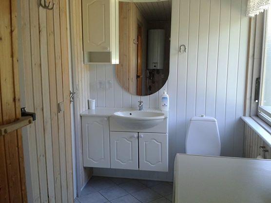 Badeværelse med sauna